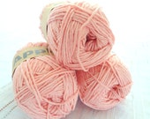 Peach Bamboo yarn,Each skein: 100 gr, knitting yarn