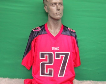 TN titans red jersey #675