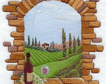 Tuscan Window Scene