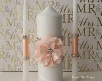 Wedding Unity Candle, Bling Unity Candle, Candles for Wedding- Custom Order