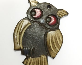 Vintage Ceramic Owl by Bückeburg Keramik
