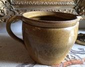 Antique European Ceramic Milk Pitcher