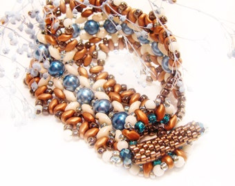 Indian Summer Handmade Beaded Bracelet