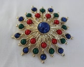 Carnival Brooch Sarah Coventry