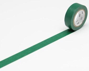 Washi Masking Tape · dunkelgrün 15mm