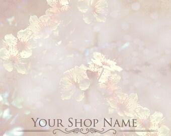 Custom Etsy Shop Banner Set (Pre-made) - Blossom