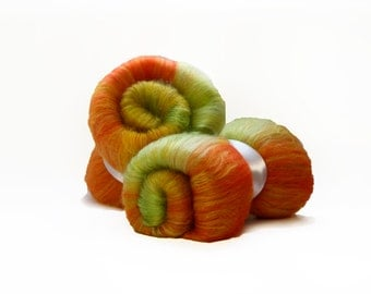 Unakite Merino Wool Batt - Stone Batts - 3 oz
