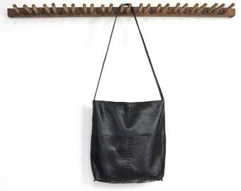Alesia - Leather Bag - Black