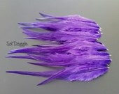 Bright Purple Feathers Craft Supplies Purple Craft Feathers Jewelry Supplies Feather Jewelry Crafts Qty12