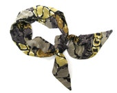 Alligator Scarf, Hairwrap, Hair Scarf, Purse Scarf, Hair Accessories, Women Scarf, Gift for Teen, Scarf, Ready to Ship