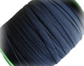 "1/4""  Navy Blue Elastic. 5 or 25 Yards."