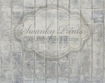 SWANKY PRINTS ORIGINAL 5ft x 5ft Vinyl Photography backdrop / Rustic Wood Wall