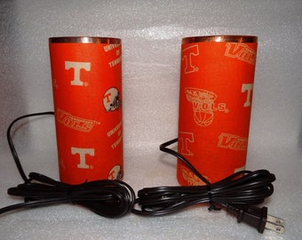 Tennessee Vols Accent Lamp Pair L-TN-Or-15.8.2