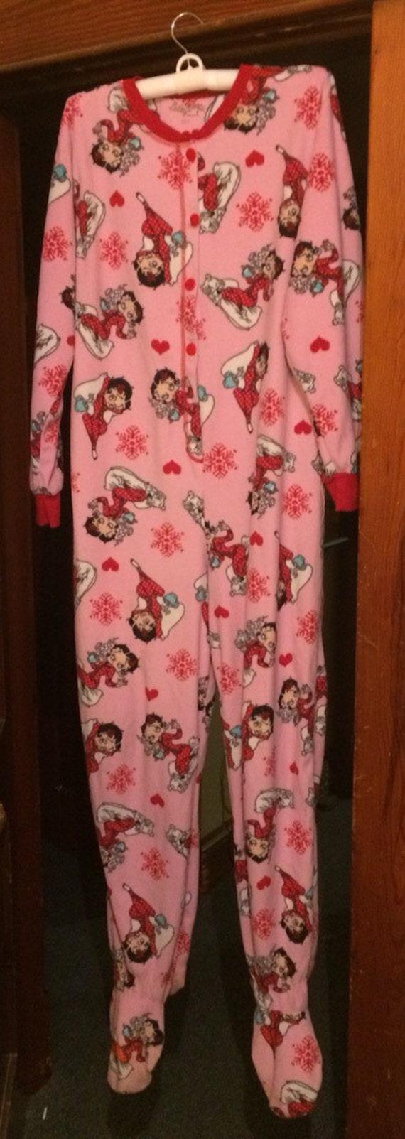 Betty Boop Pajamas uk Betty Boop Footie Pajamas