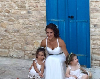 Tulle Wedding Dress Boho Wedding Dress Sweetheart Wedding Dress Bohemian Wedding Gown Chiffon Wedding Dress Beach Wedding Dress