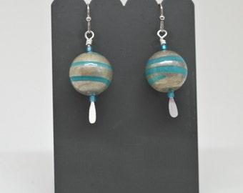 Earrings - Ocean Blue