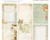 Butterfly Garden Pocket Journal Cards