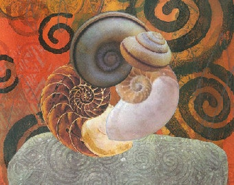Spirals art print instant digital download
