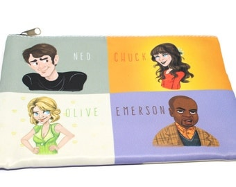 Pushing Daisies pouch