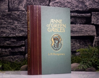 Hollow Book Safe - Vintage (1992) - Anne of Green Gables by L.M. MONTGOMERY