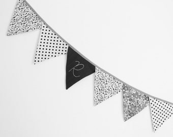 Flags Garland Fabric - ON ORDER / TAILORED