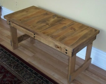 Coffee Table - Table - Bench