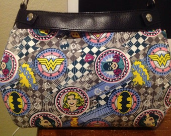 Super girls patches SUITE purse skirt cover handmade thirty one
