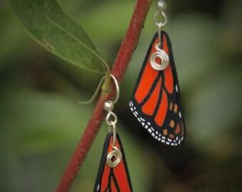 Monarch Wing Earring
