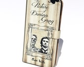 Book phone /iPhone flip Wallet case- Picture of Dorian Gray for iPhone 7, 6, 6 plus, 5, 5s, 5c, 4- Samsung Galaxy S7 S6, S5 , Note 4, 5, 7