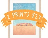 Bulk Discount: 2 Large Prints for 27 AUS Dollars