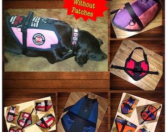 TriColor S&R Style Dog Vest