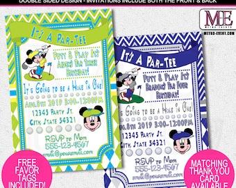 Mickey Mouse Birthday Invitations, Mickey Mouse Invitations, Birthday Invitation, Mickey Invitations, Mickey Birthday, Mickey Invitation