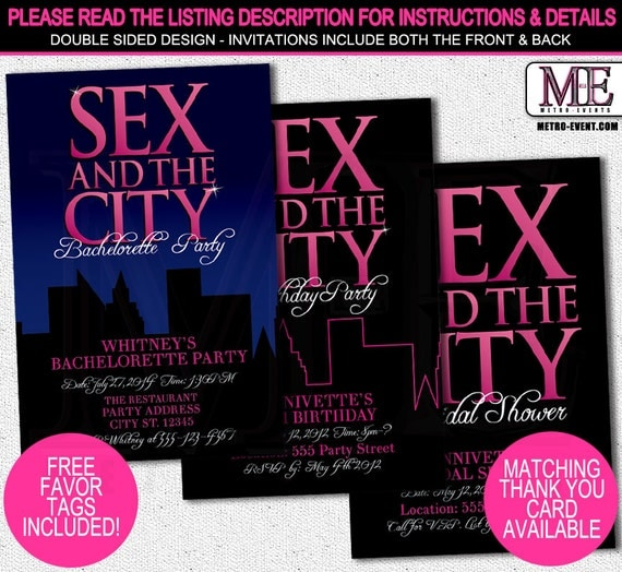 Sex And The City Card 82