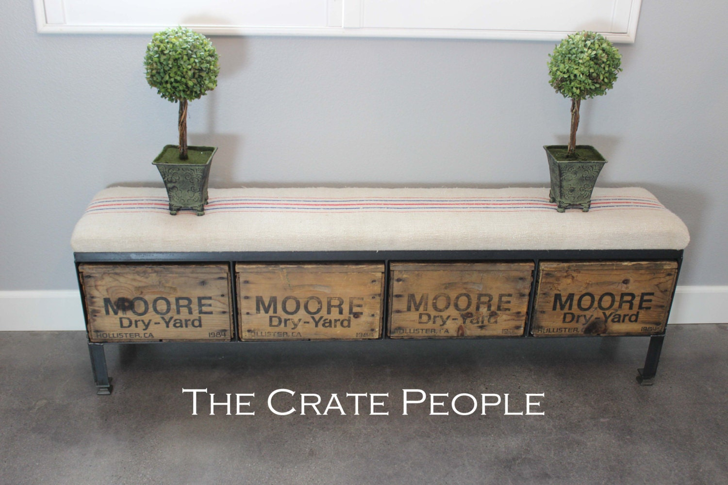 Drawer Storage Bench Vintage Wood Crates Amp European Grain Sack Quotes