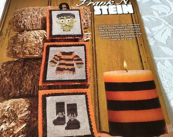 Halloween - FRANK N. STEIN - cross stitch pattern only
