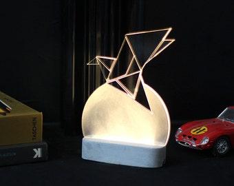 lampe de chevet lampe ampoule lampe led moderne par. Black Bedroom Furniture Sets. Home Design Ideas