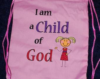 Drawstring Backpack for Girls