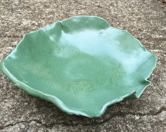 Bowl, green bowl, large bowl, fruit bowl, decorative bowl, modern bowl, pottery bowl, green large bowl, ceramic pottery
