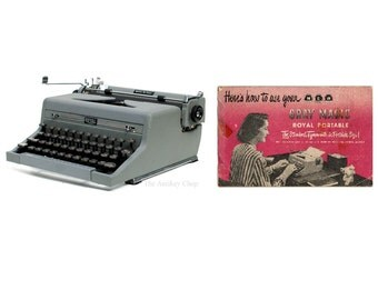 Royal Quiet De Luxe or Arrow Typewriter Instruction Manual Instant Download