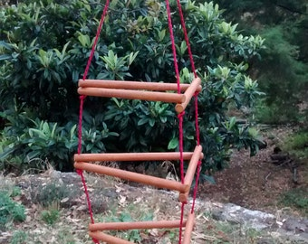 Small Wiwiurka Wooden Climber / Monkey Bar kit assembled by yourself