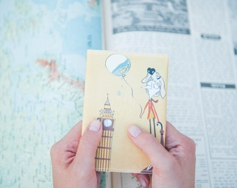 "Passport Cover ""Its the Big Ben"""