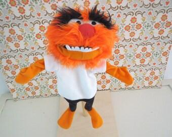 Disney Muppet Rare complete hand puppet muppet show Animal