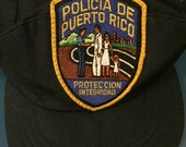 Authentic Puerto Rico Police Cap