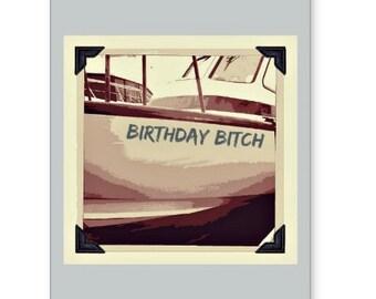 Birthday Bitch Birthday Card, Funny Birthday Cards, Girlfriend Birthday Card, LGTBQ Birthday Card, Best Friend Birthday Cards, Diva Birthday