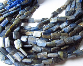 Kyanite Rectangle Beads 12mm x 8mm