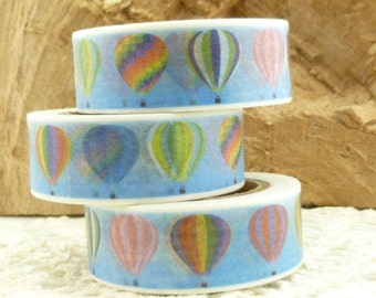 Hot Air Balloon Washi Tape - II1696