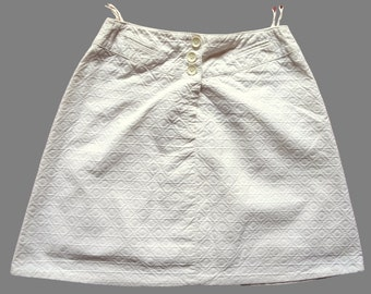 Vintage 60's Mini Skirt UK 10