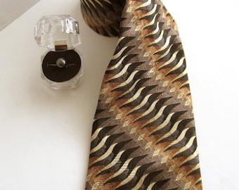 Vintage Carlos DeVenezia tie with clip