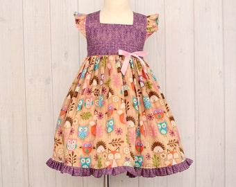 Girls Fancy Dresses - Woodland Critters- Fancy Dresses - Size 3T - 1415