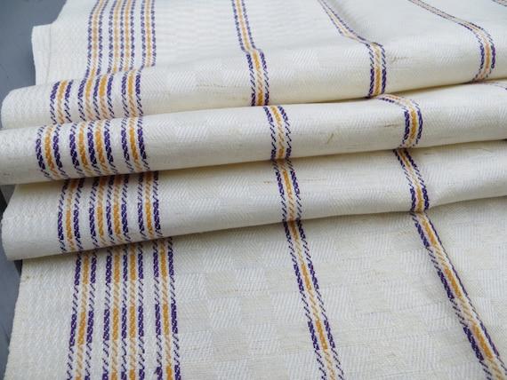 Free Shipping Worldwide German Checkerboard   Linen Towel   Stripes Kitchen Runner Dish Cloth  Pillow Bath Cloth Torchon Monogram WS Unused
